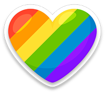 We are proud supporters of LGBT+ community